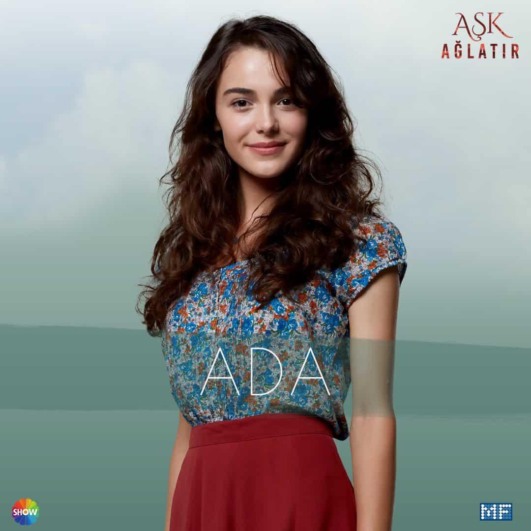Aşk Ağlatır dizisi Ada