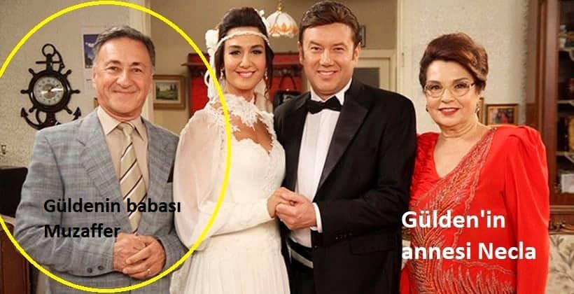Seksenler Güldenin babası muzaffer annesi Necla