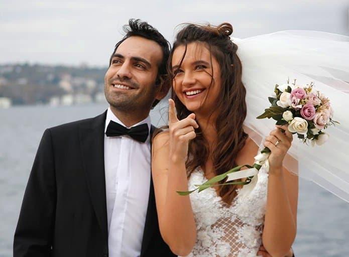 Buğra Gülsoy'un Kızım dizisinde evlenmesi