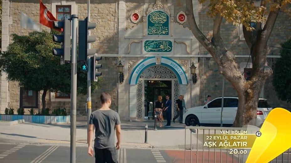 Aşk Ağlatır 3. bölüm çekim yeri darül acaze İstanbul