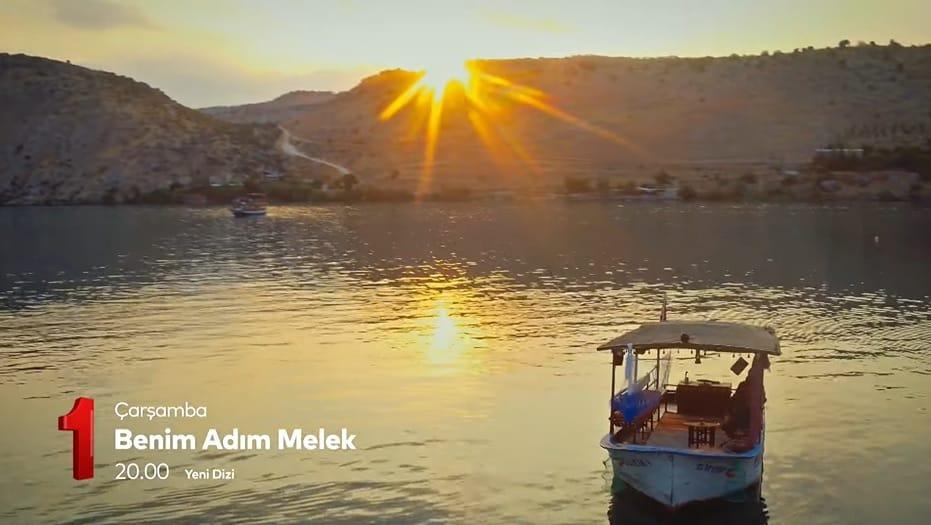 Benim Adım melek dizisi Halfeti gün batımı manzarası