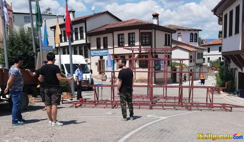Gel Hemşerim Yarışması Bilecik Osmaneli ilçesinde çekiliyor