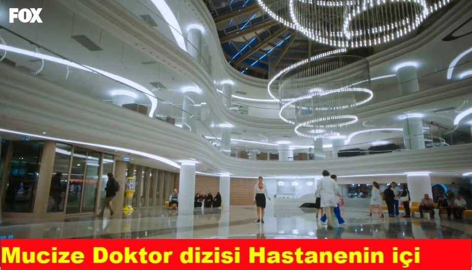 Muzice Doktor dizisi Berhayat hastanesinin içi