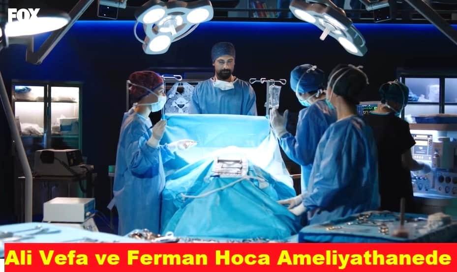Mucize Doktor dizisinin çekildiği ameliyathane
