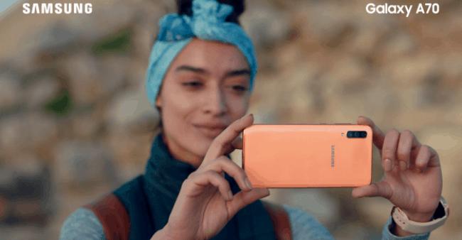 Samsung A70 Reklam fon Müziği jenerik şarkısı