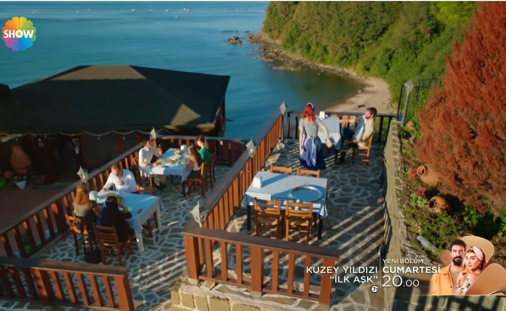 Kuzey Yıldızı sahildeki restoran neresi