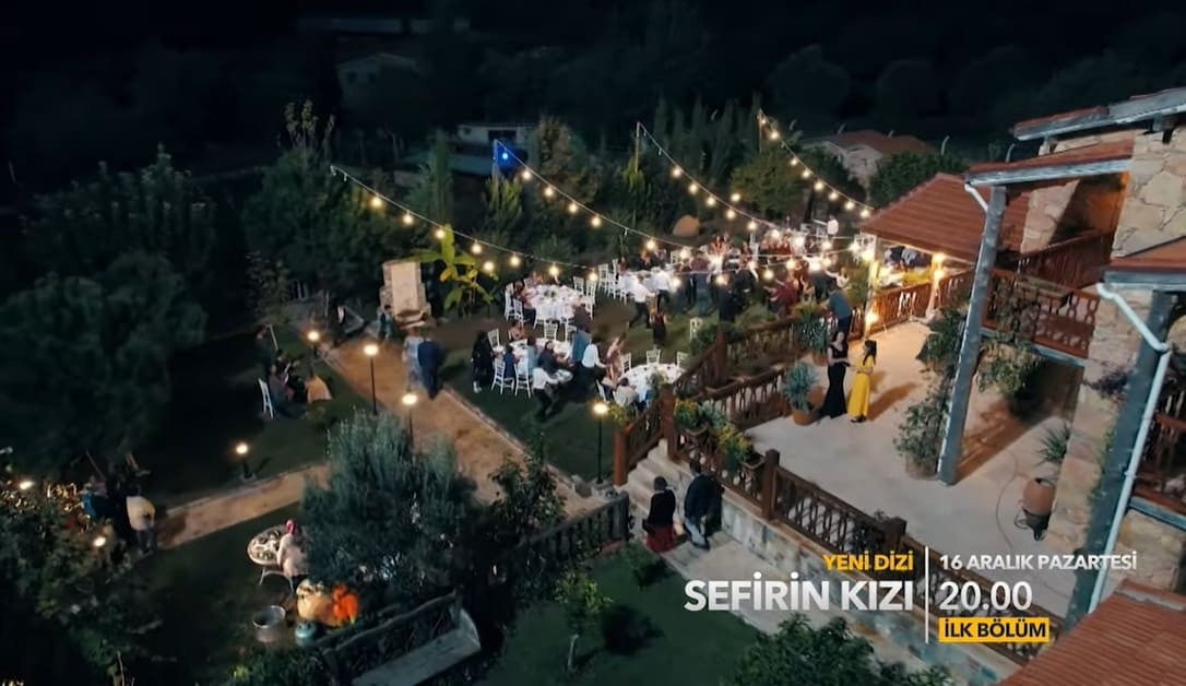 Sefirin Kızı dizisi çekim yerleri düğün alanı