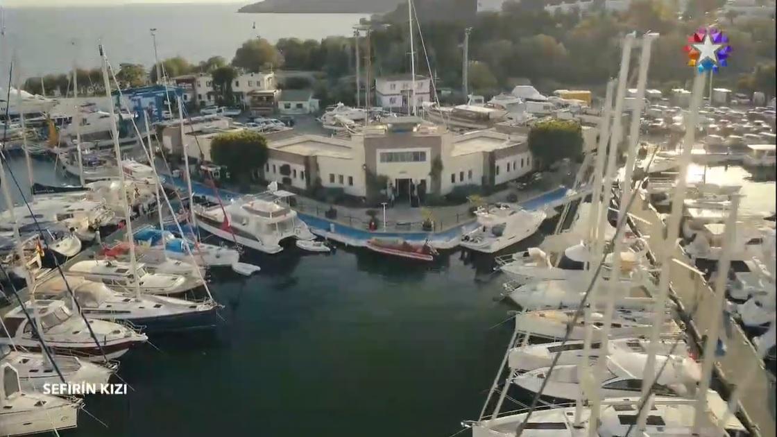 Sefirin Kızı dizisi Marmaris Yat Limanı