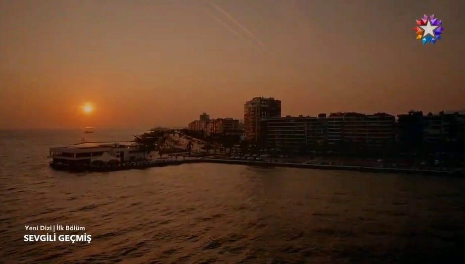 Sevgili Geçmiş dizisi gün batımı İzmir
