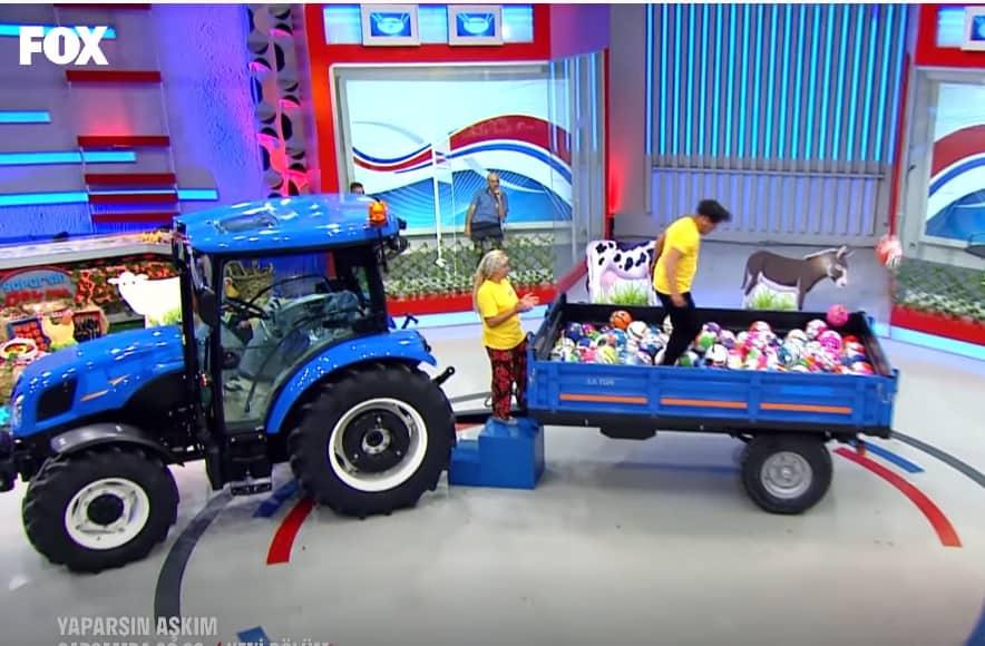 yaparsin askim new holland traktor veriyor