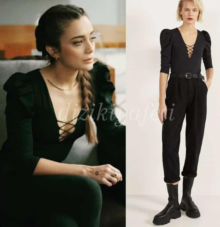 Çukur dizisinde Efsun 'un giydigi Bluz ve Pantolon