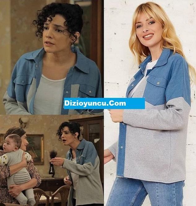 Çukur dizisinde Damla'nın giydiği gömlek