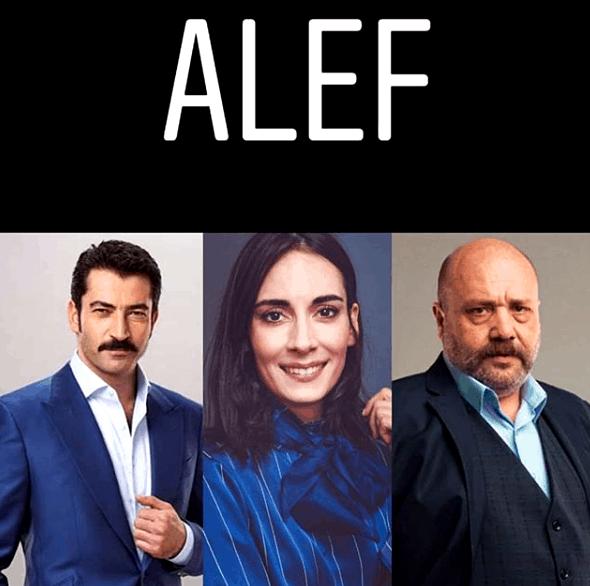 Kenan İmirzalıoğlu yeni dizisi Alef