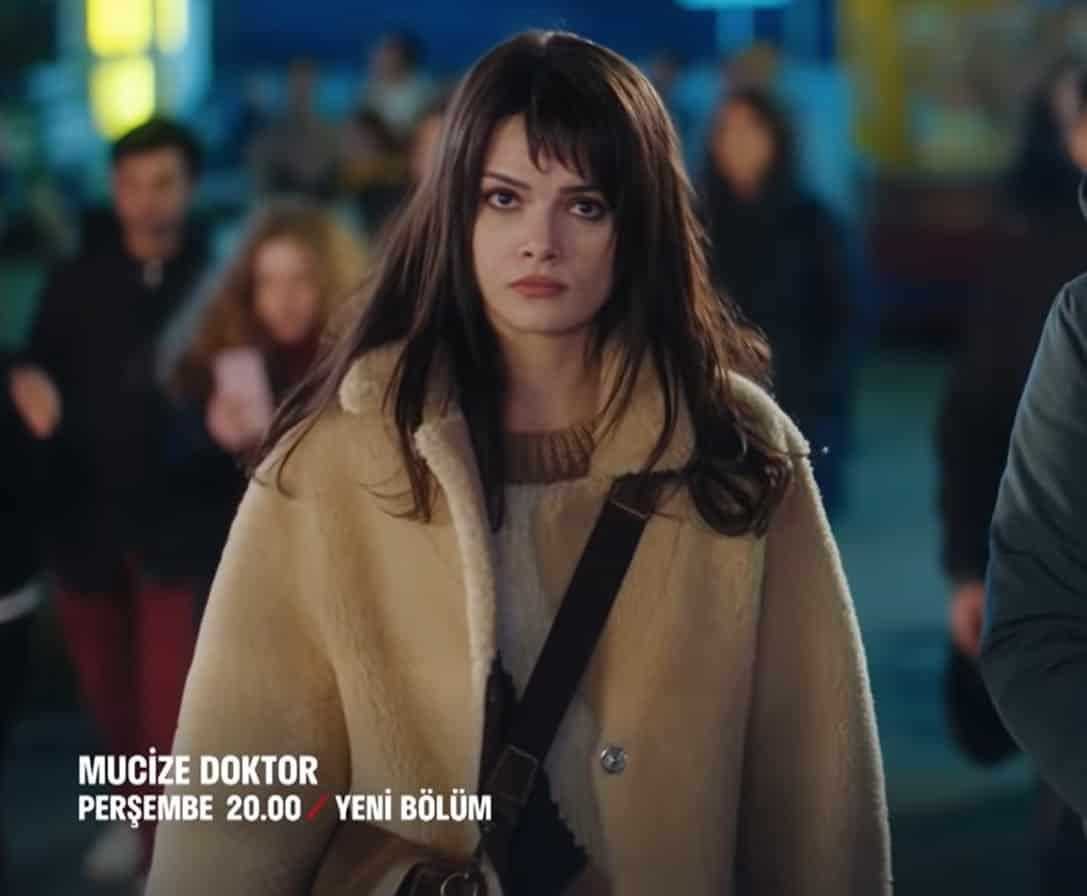 Mucize Doktor 17. Bölüm Nazlının giydiği kürk mont
