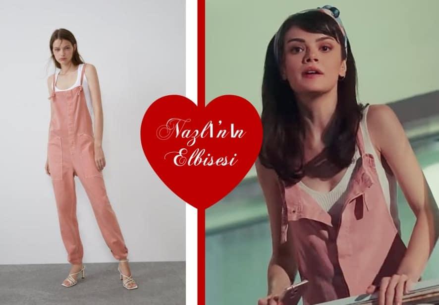 Mucize Doktor Nazlının giydiği tulum markası Zara