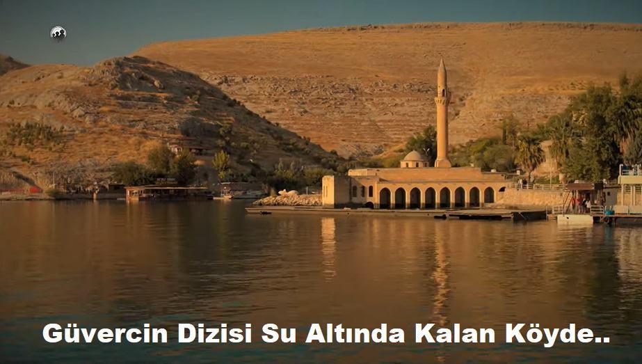 Güvercin dizisi Gaziantep ilimizde su altında kalan yerde çekiliyor