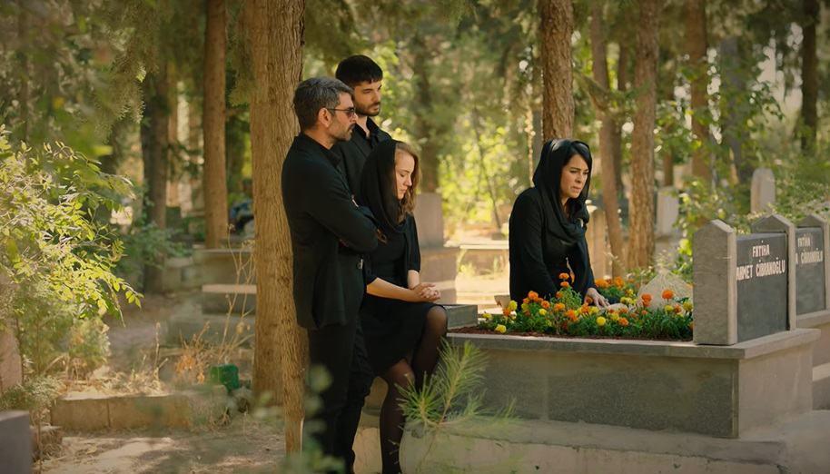 Güvercin dizisinde hangi mezarlık çekim yeri