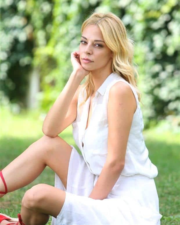 Kilit filmi oyuncusu Tuğçe Karabacak