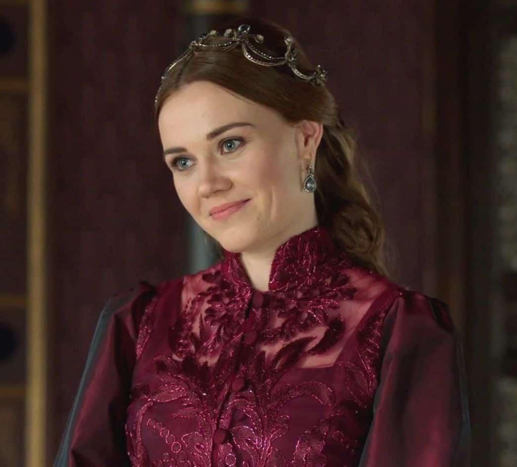 Alma Terziç Kuruluş Osmanda Sofia rolünde