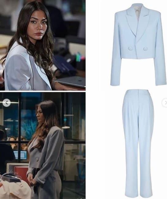 20 Ocak Doğduğun Ev kaderindir dizisi Zeynep'in giydiği takım elbise
