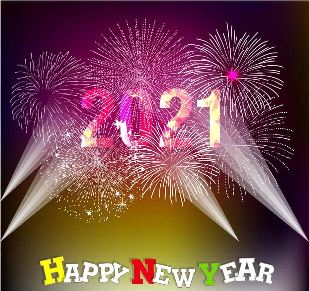 2021 Komik Yeni Yıl resimleri