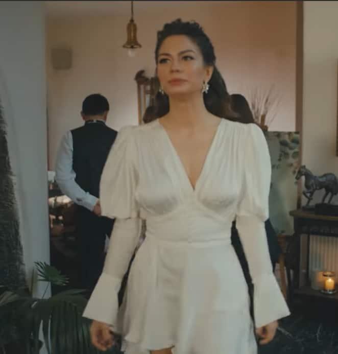 Doğduğun Ev Kaderindir Zeynep beyaz elbisesi 26 Şubat