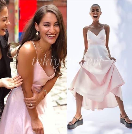 Doğduğun Ev Kaderindir dizisinde Emine'nin giydiği Elbise