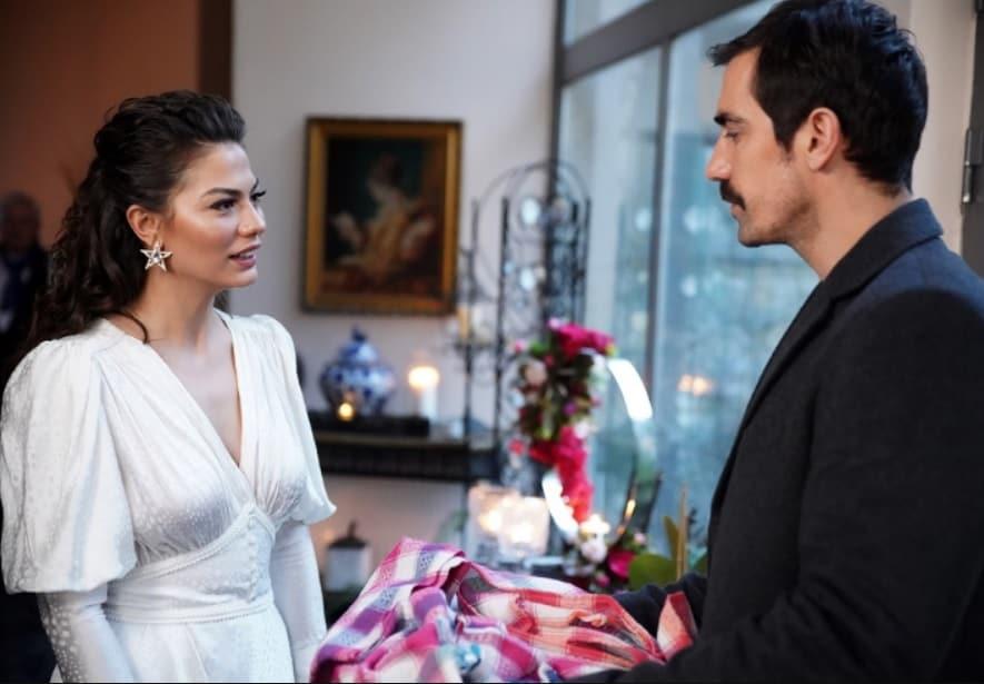 Dogdugun ev kaderindir Zeynepin beyaz elbisesi Sagaza Couture