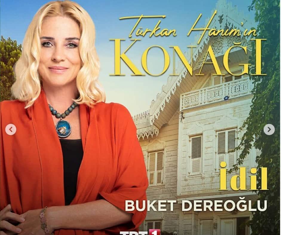 Turkan Hanim'in Konagi Buket Dereoglu Idil karakteri