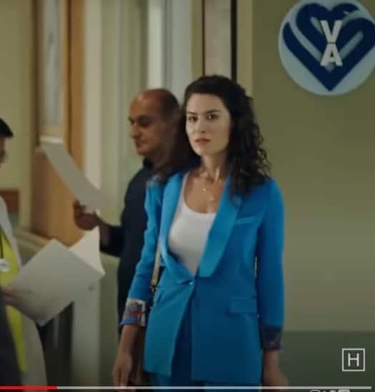 hekimoglu selinin mavi ceketi