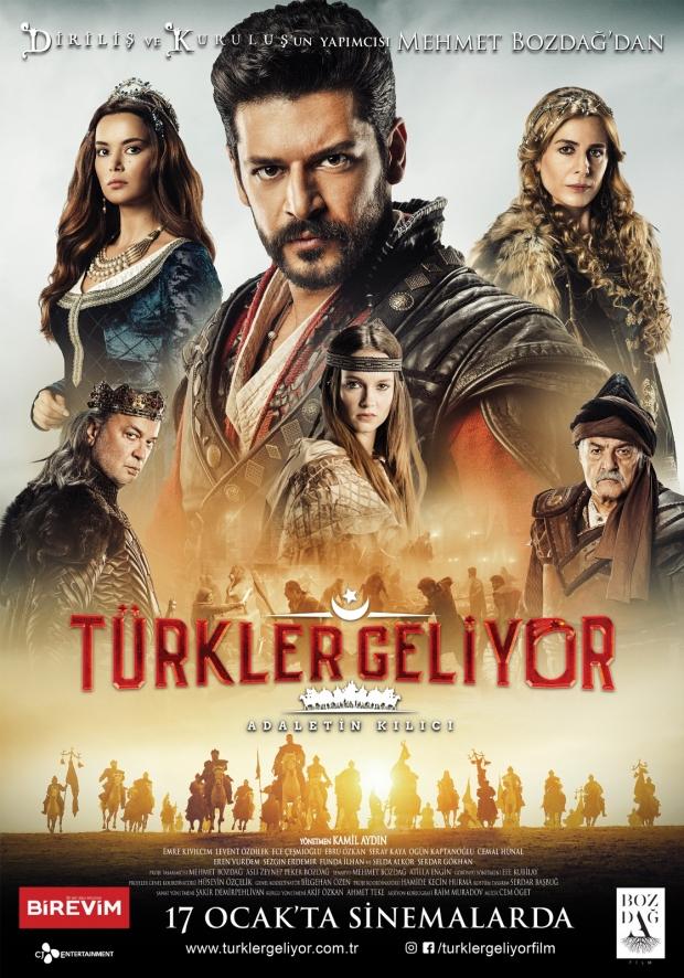 Türkler geliyor filmi şarkısı sözleri