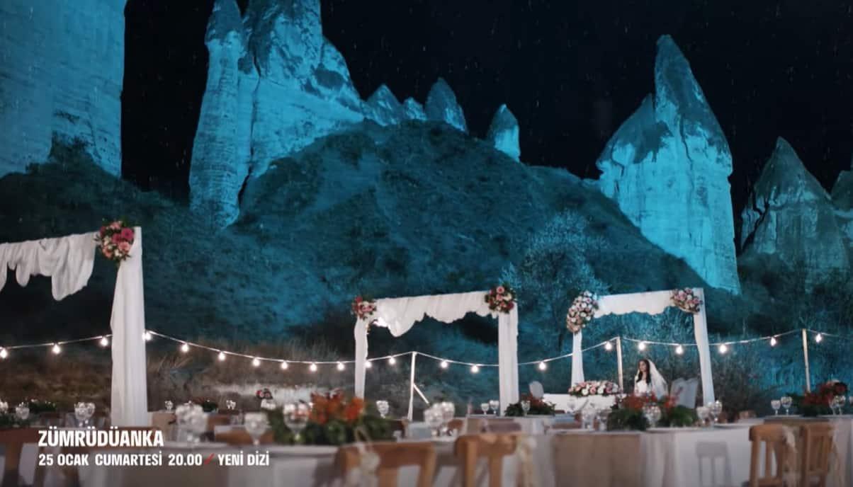 Zümrüdü Anka Dizisi Kapadokyada çekiliyor