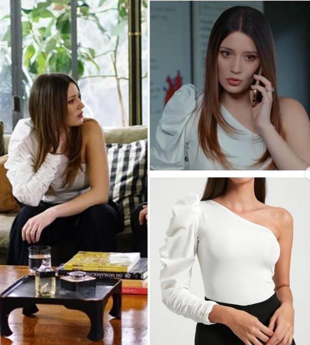 16 Şubat Baraj dizisinde Bahar'ın giydiği bluz