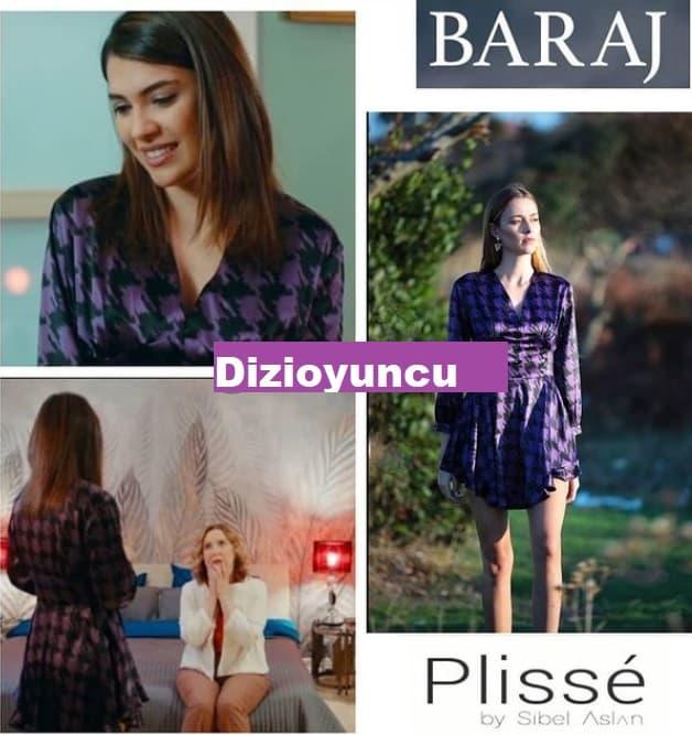 2 Şubat Baraj dizisinde Nehir'in giydiği elbise