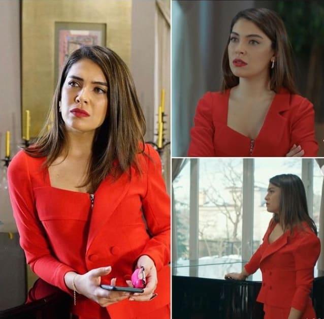 27 Ocak Baraj dizisi Nehir'in giydiği kırmızı takım