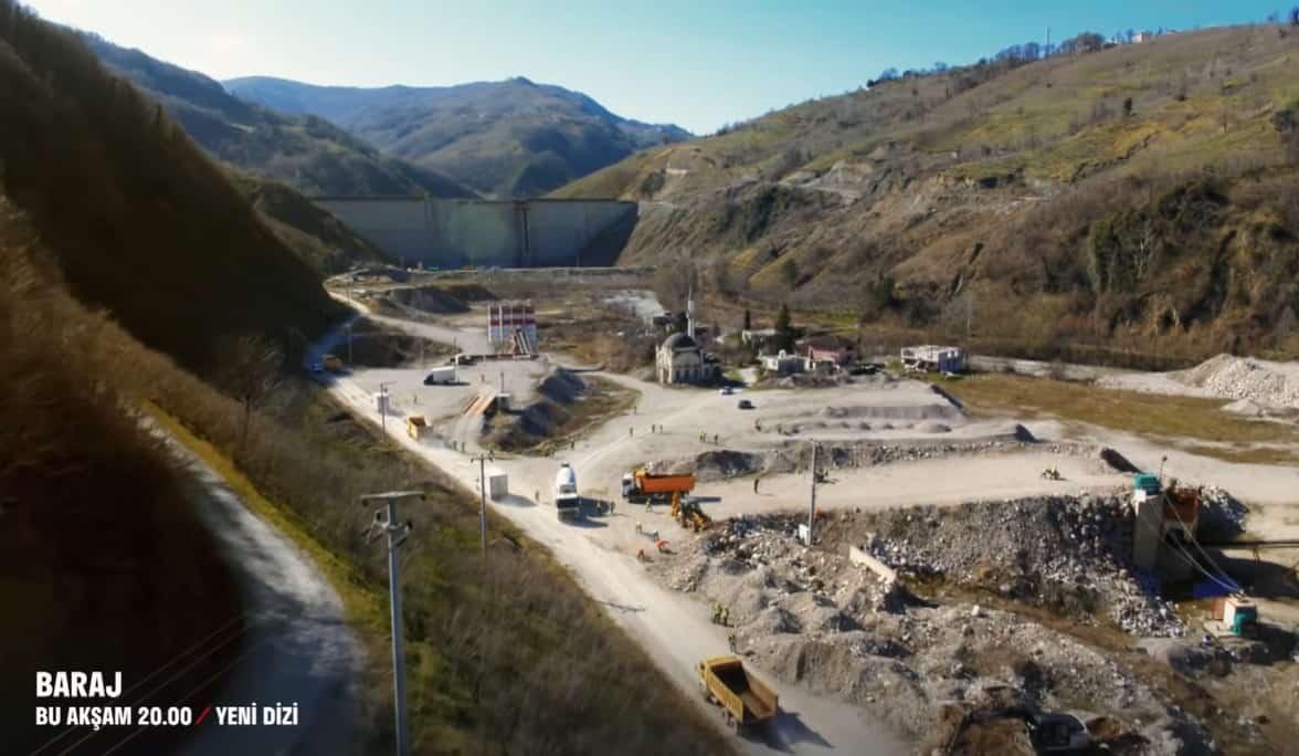 Baraj dizisi çekim yeri Sakarya ilimizdeki hangi baraj