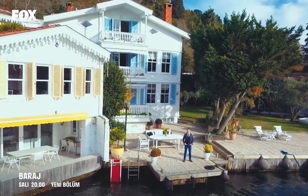 Baraj dizisi 15 Aralık bölümü nerede çekildi