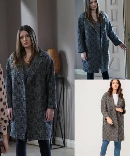 Baraj dizisi Bahar'ın giydiği ceket