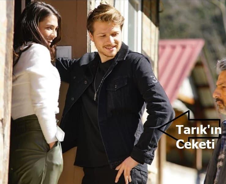 Baraj dizisi Tarık'ın ceketi