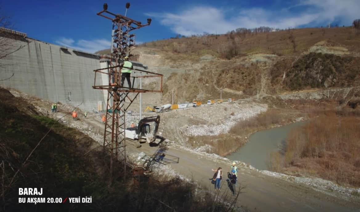 Baraj dizisinin çekildiği yer hangi baraj neresi