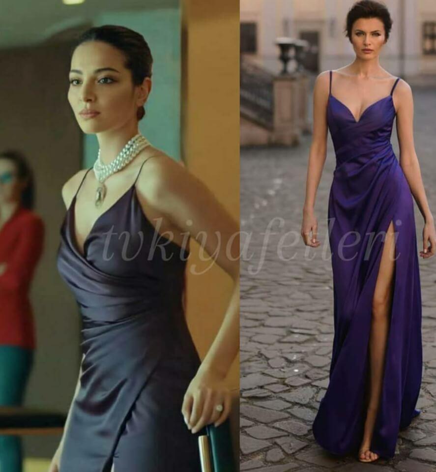 Yeni Hayat dizisi yasemin'in giydigi elbise
