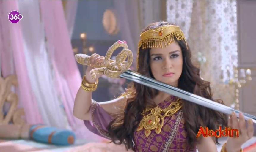 Aladdin dizisininde Prenses Yasemin