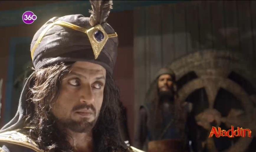 Aladdin dizisininde Vezir zafer