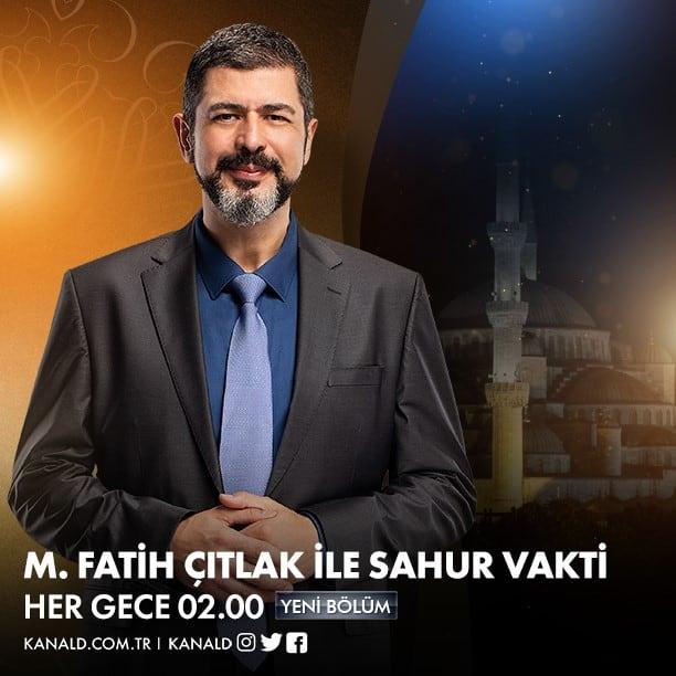 Fatih Çıtlak 2020 Ramazan maaşı ücreti (Kanal D)