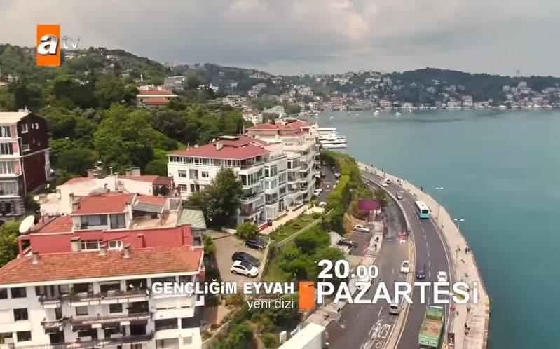 Gençliğim Eyvah dizisi İstanbulda nerede çekiliyor