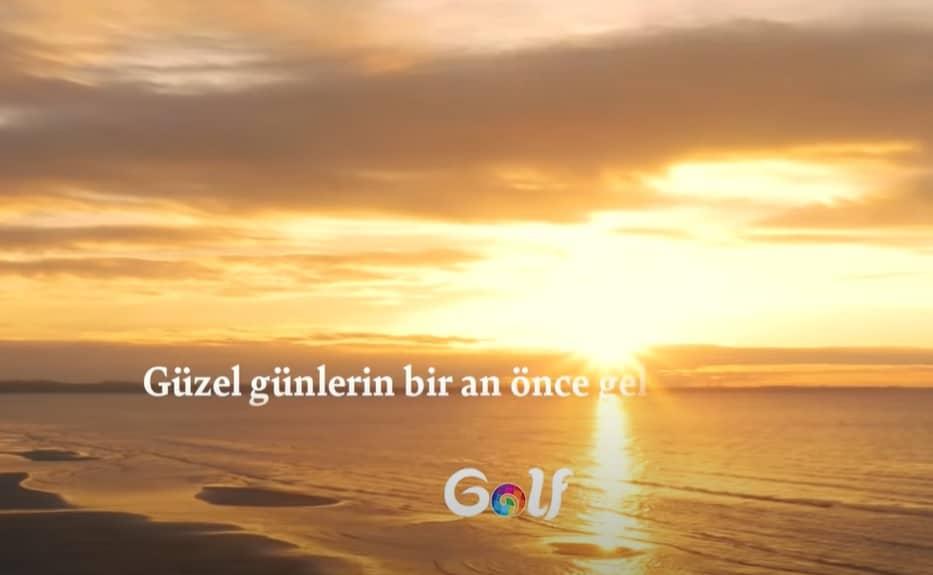 Golf reklamı 2020 şarkısı sözleri
