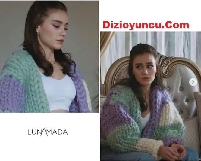17 Ocak Arıza dizisinde Derya'nın giydiği hırka kazak