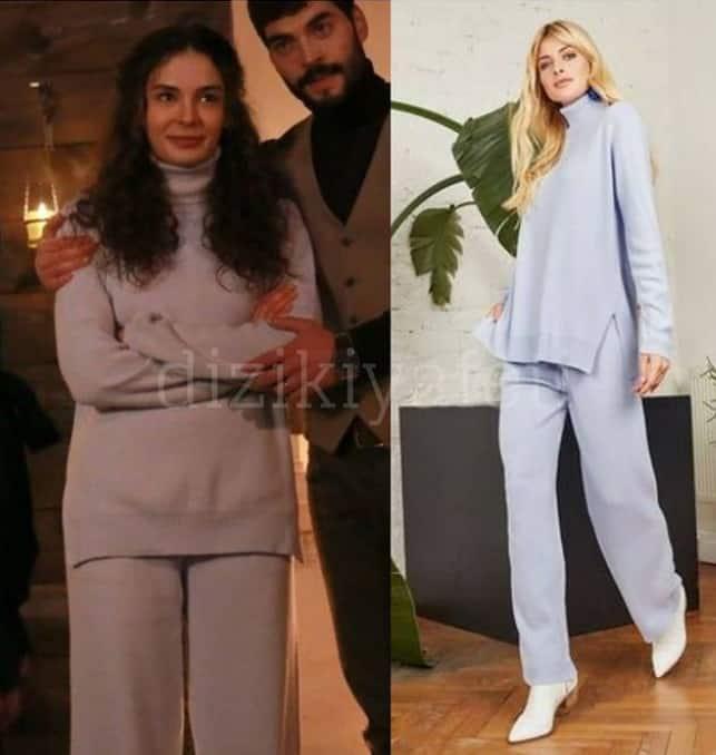 18 Aralık Hercai dizisinde Reyyan'ın giydiği Takım