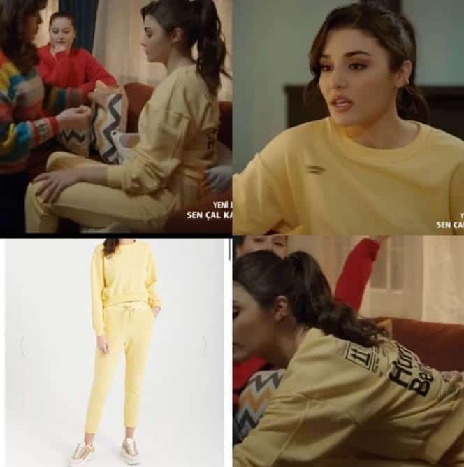 20 Mart Sen Cal Kapimi 36. bolum Eda'nin giydigi pijama takimi