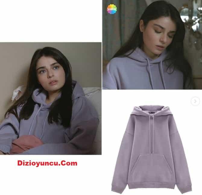 27 Aralık arıza dizisinde Halide ayça aysin turan'ın giydiği sweatshirt